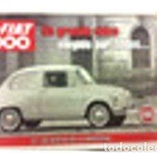 Coches y Motocicletas: POSTER PUBLICIDAD FIAT 600 UN GRANDE CHICO ELEGIDO POR TODOS. Lote 278913793