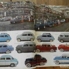 Coches y Motocicletas: CATALOGO DE LA INSDUSTRIA AUTOMOBILISTICA ITALIANA, AÑO 1957 / 58, A.N.F.I.A.A., ALFA ROMEO, AUTOBIA. Lote 286609818