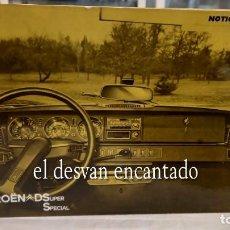 Coches y Motocicletas: CITROEN DS. SUPER SPECIAL. (TIBURON). CATÁLOGO DE USO ORIGINAL FRANCÉS. AÑO 1972. Lote 288061418