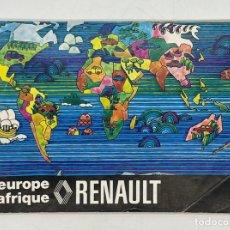 Coches y Motocicletas: LIBRO DE LA RED DE TALLERES RENAULT DE EUROPA Y AFRICA -1974. Lote 288072613