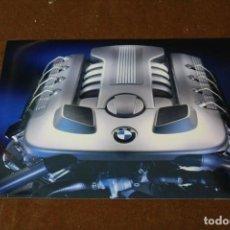 Coches y Motocicletas: FOTOGRAFÍA PUBLICITARIA BMW, V8 DIESEL ENGINE BLOQUE MOTOR.. Lote 288075628