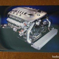 Coches y Motocicletas: FOTOGRAFÍA PUBLICITARIA BMW, V8 DIESEL ENGINE BLOQUE MOTOR.. Lote 288076033