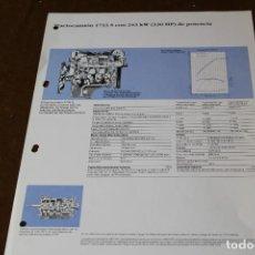 Coches y Motocicletas: HOJA DE CARACTERISTICAS MERCEDES BENZ CHASIS CABINA 1733 S. Lote 288085083