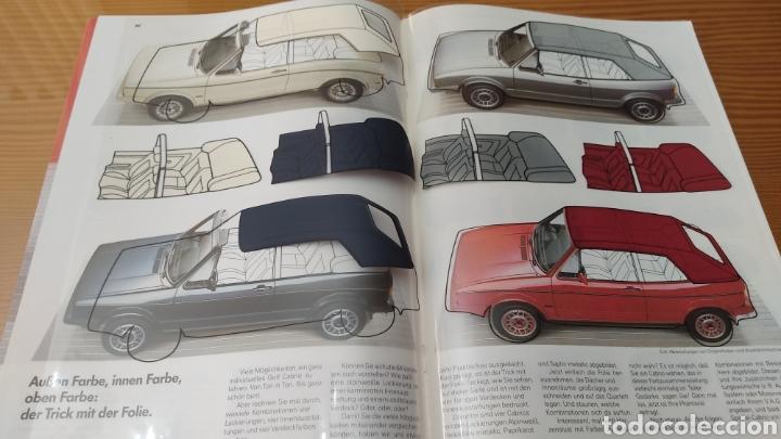 Coches y Motocicletas: Catalogo concesionario volkswagen Golf 2 Cabrio ,aleman,original - Foto 3 - 288543358