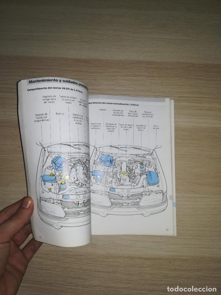 Coches y Motocicletas: Manual del propietario Ford Sierra 1991 - Foto 2 - 288545093
