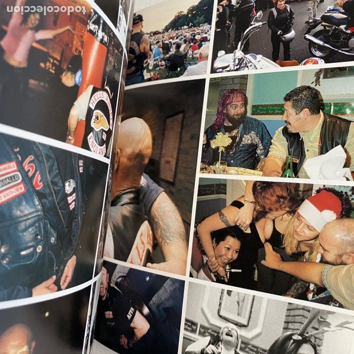 Coches y Motocicletas: Libro hells angels motorcycle club - Merrell motoristas-angeles del infierno hell - Foto 2 - 288572093