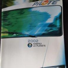 Coches y Motocicletas: 2002 CATÁLOGO CARAVANA PILOTE. Lote 289475318