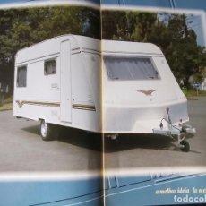 Coches y Motocicletas: 1990`S CATÁLOGO CARAVANA PLUMA. Lote 289475813