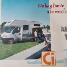 Coches y Motocicletas: 1996 CATÁLOGO CARAVANAS CI - NO HAY LIMITE A LA EXCELENCIA - MIZAR 150 - ELEGANT 330. Lote 289480373
