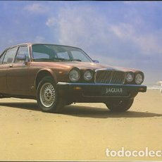 Voitures et Motocyclettes: JAGUAR XJ6 1983, PRECIOSO CATÁLOGO DE 14 PÁGINAS + COLOUR & TRIM GUIDE, EN ESPAÑOL. Lote 290091238