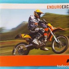 Coches y Motocicletas: CATALOGO KTM ENDURO EXC 2004 24 PAGINAS, MOTO FOLLETO BROCHURE. Lote 293627228