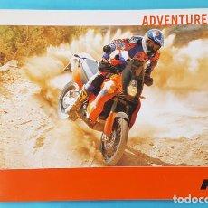 Coches y Motocicletas: CATALOGO KTM ADVENTURE 2004 20 PAGINAS, MOTO FOLLETO BROCHURE. Lote 293627628