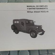 Carros e motociclos: MANUAL DE EMPLEO WILLYS DIESEL. Lote 293992133