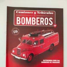 Coches y Motocicletas: FASCÍCULO 17 EBRO B45 COLECCIÓN CAMIONES Y VEHÍCULOS DE BOMBEROS PEGASO SALVAT NUEVO. Lote 294169963