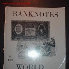 Catálogos y Libros de Monedas: CATALOGO BANKNOTES OF THE WORLD,VOLUMEN 1(ADEN-CHINA)VOLUMEN 2 (COLOMBIA-KUWAI)1967. Lote 23725898