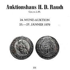 Catálogos y Libros de Monedas: SUBASTA NUMISMATICA / H.D. RAUCH. VIENA / 1979. Lote 26673596