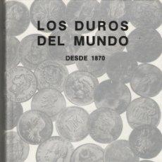 Catálogos y Libros de Monedas: CATALOGO DE LOS DUROS DEL MUNDO DE JUAN R. CAYON. Lote 21083506