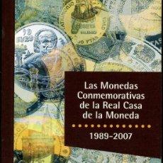 Catálogos y Libros de Monedas: LAS MONEDAS CONMEMORATIVAS DE LA REAL CASA DE LA MONEDA 1989-2010. Lote 25678896