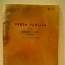 Catálogos y Libros de Monedas: JUAN R. CAYON MONEDAS Y MEDALLAS. Lote 9204381