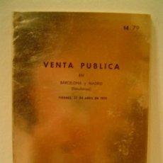 Catálogos y Libros de Monedas: JUAN R. CAYON MONEDAS Y MEDALLAS. Lote 9204394