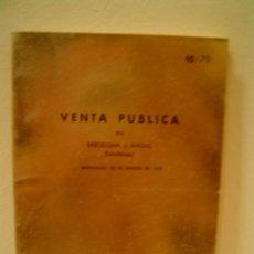 Catálogos y Libros de Monedas: JUAN R. CAYON MONEDAS Y MEDALLAS. Lote 9204398