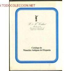 Catálogos y Libros de Monedas: 1979.CATALOGO CALICO DE MONEDAS ANTIGUAS HISPANIA. Lote 26409207