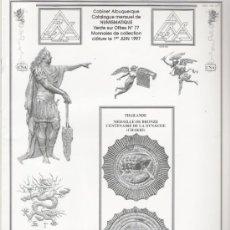Catálogos y Libros de Monedas: CATALOGO DE NUMISMATICA CABINET ALBURQUERQUE Nº 77. Lote 11206005