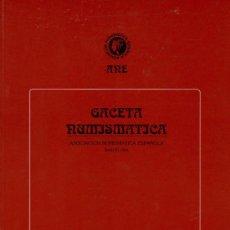 Catálogos y Libros de Monedas: BARCELONA ANE REVISTA GACETA NUMISMATICA 132 - NUEVA. Lote 11576873