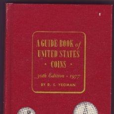 Catálogos y Libros de Monedas: CATÁLOGO DE MONEDAS NORTEAMRICANAS AÑO 1977. Lote 24702536