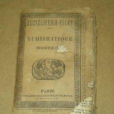 Catálogos y Libros de Monedas: NUMISMÁTICA. BARTHELEMY NUMISMATIQUE SUEDE ESPAGNE ITALIE RORET 1836. Lote 27384594