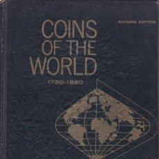 Catálogos y Libros de Monedas: .CATALOGO COINS OF DE WORLD, W. D. CRAIG, 2ª EDICION 1971. MBC.. Lote 26382706
