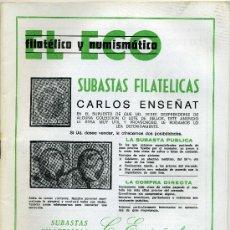Catálogos y Libros de Monedas: REVISTA DEL ECO FILATÉLICO Y NUMISMÁTICO ENERO 1981 Nº 783 ( REBAJADO ). Lote 19366944