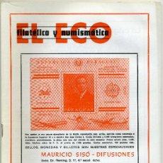 Catálogos y Libros de Monedas: REVISTA DEL ECO FILATÉLICO Y NUMISMÁTICO, ABRIL 1981 Nº 788 ( REBAJADO ). Lote 19366946