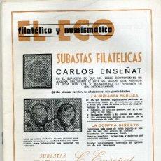Catálogos y Libros de Monedas: REVISTA DEL ECO FILATÉLICO Y NUMISMÁTICO, 20 JUNIO 1981 Nº 793 ( REBAJADO ). Lote 19366954