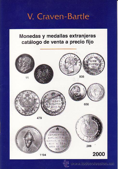 CATÁLOGO NUMISMATICA. CRAVEN BARTLE. AÑO 2000 (Numismática - Catálogos y Libros)