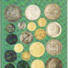 Catálogos y Libros de Monedas: CATÁLOGO NUMISMATICA. SUBASTA NUMISMÁTICA. ALBACETE. AÑO 1999. Lote 18475764