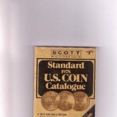 Catálogos y Libros de Monedas: 388-CATALOGO SCOTT 1978- MONEDAS USA. Lote 27242228