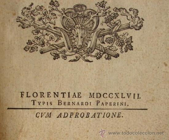 Catálogos y Libros de Monedas: ANTIGUO CATALOGO DE MONEDAS ROMANAS: NUMISMATUM IMPERATORUM ROMANORUM - AÑO 1747 - Foto 3 - 26344719