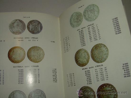 Catálogos y Libros de Monedas: LAS MONEDAS ESPAÑOLAS DESDE FELIPE V A ISABEL II. (1700 - 1868 ). - Foto 3 - 23767522