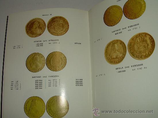 Catálogos y Libros de Monedas: LAS MONEDAS ESPAÑOLAS DESDE FELIPE V A ISABEL II. (1700 - 1868 ). - Foto 4 - 23767522