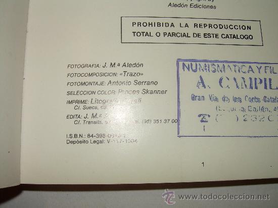 Catálogos y Libros de Monedas: LAS MONEDAS ESPAÑOLAS DESDE FELIPE V A ISABEL II. (1700 - 1868 ). - Foto 7 - 23767522