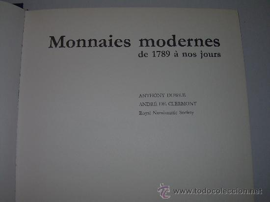 Catálogos y Libros de Monedas: MONNAIES MODERNES DE..1.789 A 1.972 - Foto 2 - 21231178