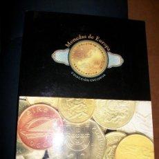 Catálogos y Libros de Monedas: LIBRO MONEDAS DE EUROPA CON 38 MONEDAS - 44 PAGINAS A TODO COLOR. Lote 26166330