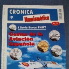 Catálogos y Libros de Monedas: CRONICA NUMISMATICA - Nº 84- JULIO Y AGOSTO 1997. Lote 23296215