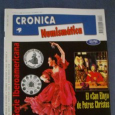 Catálogos y Libros de Monedas: CRONICA NUMISMATICA - Nº 88- DICIEMBRE 1997. Lote 23296308