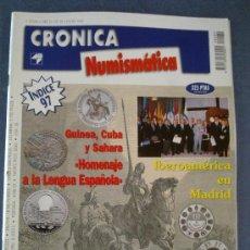 Catálogos y Libros de Monedas: CRONICA NUMISMATICA - Nº 89- ENERO 1998. Lote 23296340