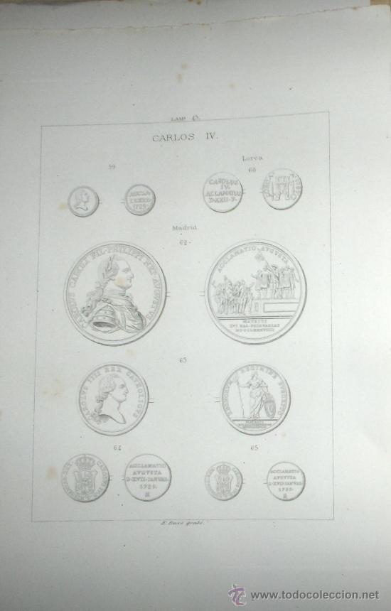 EDICION ORIGINAL AÑO 1884.MEDALLAS PROCLAMACIONES Y JURAS DE REYES DE ESPAÑA POR ADOLFO HERRERA.MADR (Numismática - Catálogos y Libros)