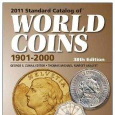 Catálogos y Libros de Monedas: CATÁLOGO MUNDIAL DE MONEDAS 1901-2000 · EDICIÓN 2011. Lote 37104392
