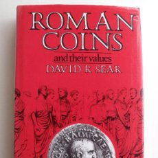 Catálogos y Libros de Monedas: ROMAN COINS AND THEIR VALUES. Lote 41143795