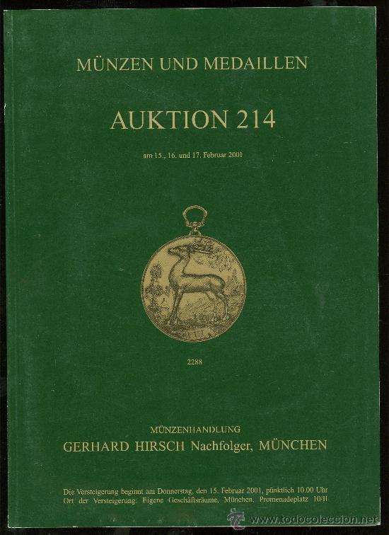 Catalogo De Monedas Munzen Und Medaillen Gerh Comprar Catálogos